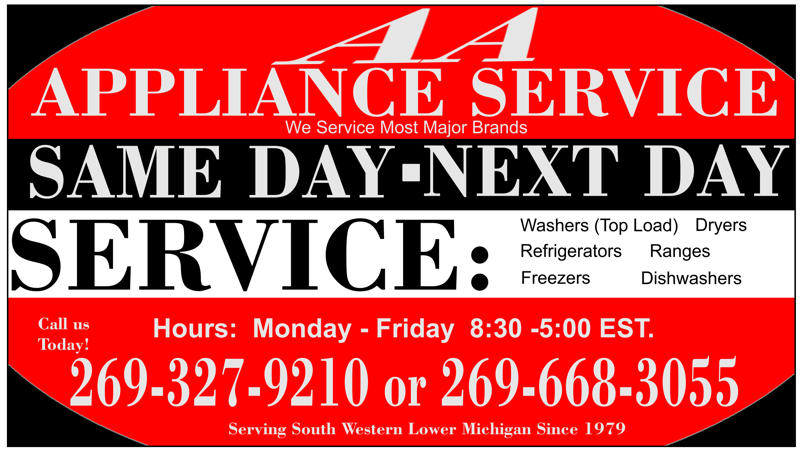 AA Appliance Service